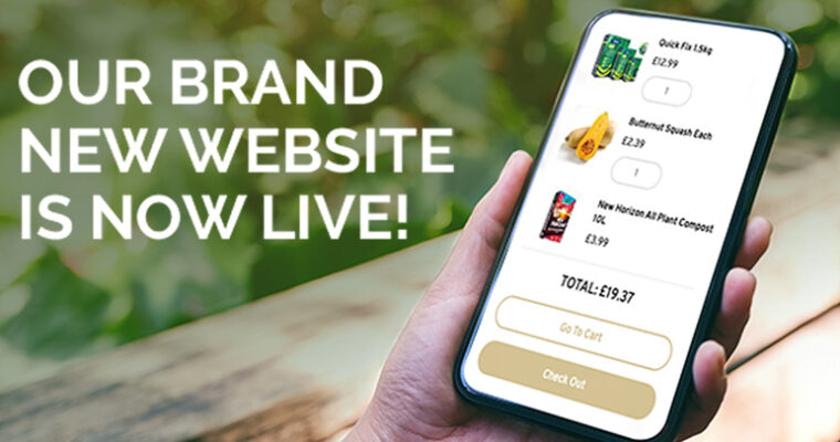 Our brand new website is LIVE!