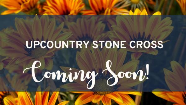 Say Hello To UpCountry Stone Cross!